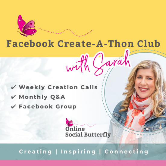 Facebook Create-a-thon monthly club